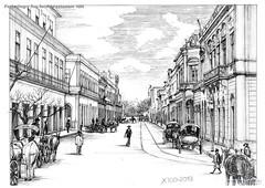 Porto Alegre Rua Sete de setembro 1920