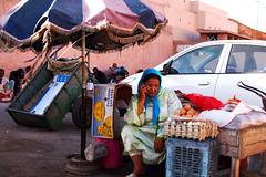 (orunuddin) Tags: street city travel summer colour photography 50mm moments market f14 candid islam spice streetphotography olympus morocco second marrakech souk m43 em5