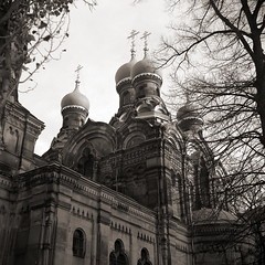 (Certo Dolly 1935) Dresden, Russisch Orthodoxe Kirche - Russian Orthodox Church