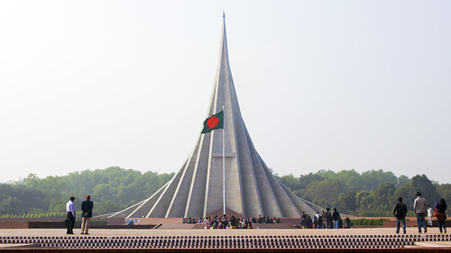 জাতীয় স্মৃতি সৌধ - The National Martyrs' Monument of Bangladesh