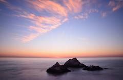 Seal Rocks (Iyhon Chiu) Tags: sanfrancisco sunset pacificocean    sealrocks        2013 sutrodistrict  d7000