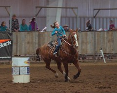 Bar None Jr Rodeo (Garagewerks) Tags: horse girl sport female youth bar turn cowboy all none sony barrel sigma indoor jr racing arena burn rodeo cans cowgirl athlete f28 equine 70200mm 2875mm views100 views200 views400 views300 slta77v slta65v