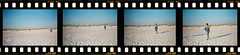 35mm movie sequence on the sandy beach (OLDLENS24) Tags: film beach 35mm sandy sequence {vision}:{outdoor}=099 séquencefilm35 surlaplagedesablefin