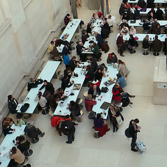 The British Museum (Sallyrango) Tags: uk england people london museum cafe candid interior perspective britishmuseum