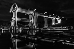 Falkirk Wheel (amcgdesigns) Tags: water canon reflections dark lowlight arty central falkirkwheel cs6 eos400d andrewmcgavin