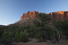 Last light on Circle Cliffs (Explored) (Jeff Mitton) Tags: mountains landscape utah sandstone scenic wondersofnature circlecliffs earthnaturelife grandstaircaseoftheescalantenationalmonument pionjuniperwoodland