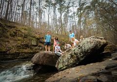 The Squad (Jonathan Daniels1) Tags: friends lake water flow nikon rocks bama alabama tokina bah nicol flah bahh d7100 1116mm flahh