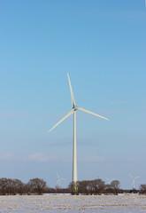 Wind Turbine (pegase1972) Tags: winter snow canada cold quebec hiver qubec neige qc windturbine montrgie monteregie