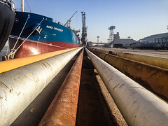 Pipelines, Khor Al-Zubair Port, Iraq