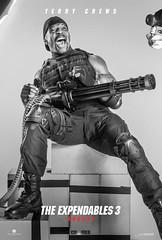 Os-Mercenarios-3-poster-Terry-Crews (Terra-1) Tags: 3 jason ford robert de harrison jean arnold schwarzenegger mel claude wesley van gibson niro stallone mercenarios damme snipes statham expendables