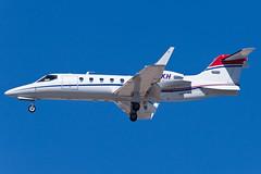 Private Learjet 31A N31KH (jbp274) Tags: las klas airport airplanes mccarran bizjet learjet