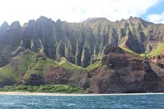 Na Pali Coast, Kauai, Hawaii (Baptiste L) Tags: napali napalicoast hawaii kauai