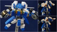 "MCS-m Kai ""Kozaru"" (phayze81) Tags: mech mecha robot mfz mf0 mobileframezero mobileframe microscale lego moc scifi sciencefiction legophotography toyphotography mcsm mobilecoremini company"