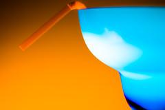 Cocktail Time HMM (Mannematte) Tags: macromondays blueandorange orangeandblue