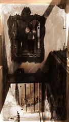 Old house (Amiela40) Tags: maison vieillot vieux escalier mirroir mirror ancien antique