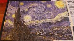 Starry Night Jigsaw (vanherdehaage) Tags: jigsaw vangogh starrynight 2000