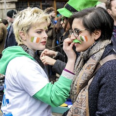 Paddy's Day 2017 (DepictingPhotos) Tags: facepainting dublin