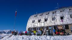 Schronisko Rif. Vittorio Emanuelle II  2735m. (Tomasz Bobrowski) Tags: vittorioemanuelleii valsavarenche narty alpy graianalps góry mountains skitury skitouring alps ski alpygraickie skitura