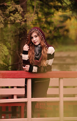 Misterious girl(2) (victor.indoitu) Tags: nature girl portrait bea beauty beautiful outdoor color vivid