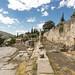 Delphi, The Sacred Way – IX – The Athenians' Stoa