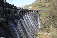 Graig Goch Dam. (aitch tee) Tags: elanvalley graiggoch dam reservoir waterways water spilling landscape outdoors views walesuk