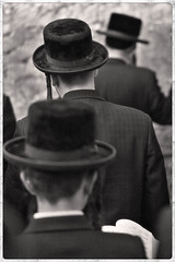 Prayer at the Wall (tatzlum.photo) Tags: 50mm leicamp240 blackandwhite hassid jerusalem israel haredi religion religious jew kotel monochrome book chassid wall kosel charedi judaism