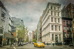 Bond Street (JMS2) Tags: bondstreet manhattan eastvillage street cab architecture kerstinfrankart texture stphotographia