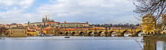 Charles Bridge/Prague Castle (Syed Ali Warda) Tags: prague architecture artistic architectural amazing arts building buildings bridge canon7d cityscape clouds cityscapes culture dramatic dark darkclouds dusk art black white canon exposure excellent europe exciting flickr greatphotographers towerbridge landscape landscapes landmark monument outdoor observing outside picture photo syedaliwarda sky charlesbridge people