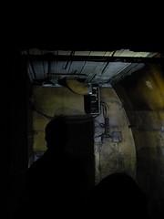 Inside Down Street Station (failing_angel) Tags: 100816 london cityoflondon mayfair hiddenlondon undergroundstation ghoststation downstreet railwayexecutivecommittee warcabinet cabinetwarrooms