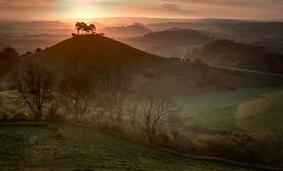 Colmer's Hill Sunrise