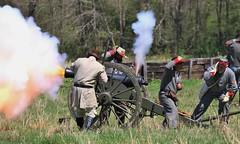 Cannon shot (DavidMethvinPierce) Tags: csa cannon bridgeport siegeofbridgeport