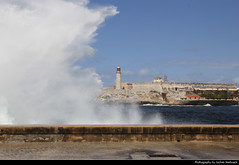 Stormy Day at the Malecón & Castillo de los Tres Reyes del Morro, Havana, Cuba (JH_1982) Tags: malecon malecón stormy storm wave waves water foam wet welle onda onde 波 波動 파동 волна castillo de los tres reyes del morro historic architecture landmark building fort light tower lighttower leuchtturm fortress castel burg wall walls festung 莫羅城堡 эльморро la habana havana havanna havane lavana 哈瓦那 ハバナ 아바나 гавана hawana हवाना هافانا הוואנה cuba kuba 古巴キューバ 쿠바 куба क्यूबा كوبا