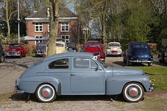 Volvofeestje (1) (Maurits van den Toorn) Tags: volvo pv444 pv544 duett kattenrug oldtimer classiccar ml7730