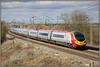 Desperate times...... (Jason 87030) Tags: virgin virmin portaloo pendolino dildo awfultrains torturechamber richturdbranson chelmscote londoneuston sky weather clouds express 390011 wcml track railways electric wires wheels junk plastic dire desperate emu unit march 2010