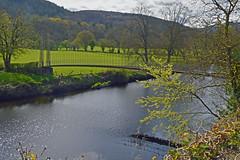 sappers bridge 1 (Lord Edam) Tags: river afon llugwy conwy wildlife morning water rocks fields bridge engineering