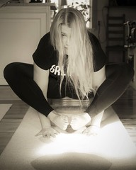 Girl Power (Annica Spjuth) Tags: fotosondag fs170326 balans yoga girlpower grlpwr