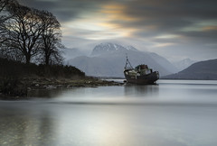 Better Days (Pureo) Tags: corpach basin bennevis scotland fishingboats water seascape lochlinnhe leefilters longexposure le snowpeaks mountains pebbles surreal canon canon6d