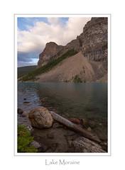 Lake Moraine ... Rocks (Ken Krach Photography) Tags: banffnationalpark lakemoraine