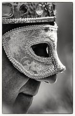 The King (sort of..) (Andy J Newman) Tags: prague man face profile candid street portrait black white blackandwhite bandw bw monochrome silverefex nikon d500 crown