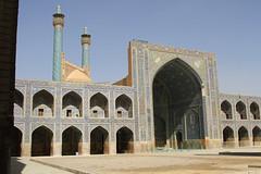 Imam Mosque (Wild Chroma) Tags: shah mosque minaret shahmosque esfahan isfahan iran persia imam imammosque