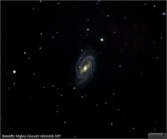Messier 109 - A Barred Spiral Galaxy in Ursa Major (The Dark Side Observatory) Tags: tomwildoner leisurelyscientistcom leisurelyscientist m109 messier barred spiral galaxy barredspiralgalaxy ursamajor dss deep deepskystacker march 2017 weatherly pennsylvania canon teamcanon canon6d meade lx90 telescope asi290mc zwo 400mm astronomy astrophotography astronomer science space sky nightsky night cosmos celestron cgemdx astrometrydotnet:id=nova2016189 astrometrydotnet:status=solved