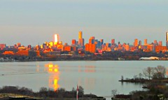 """""""The things that we love tell us what we are.""""  _ Thomas Aquinas (Trinimusic2008 - stay blessed) Tags: trinimusic2008 judymeikle nature sky evening light sun yesterday april 2017 toronto to ontario canada cntower city cityscape lakeontario"""