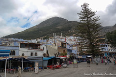 Chefhchaouen's Main Square (adventurousness) Tags: bluecity chefchaouenthebluepearl thebluecity blue chaouen chefchaouen morocco mountains travel medina square