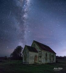 The Rising (hakannedjat) Tags: church newzealand nz nzmustdo night sony sonya6300 a6300 astro astrophotography astonomy astrology astroscape
