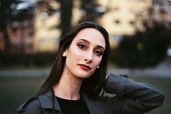 (Nothing is surrender) Tags: portrait parc beauty model girl woman mannequin supermodel serbia srbija nikonf90 nikon f90 novisad