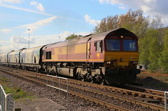 66059 Immingham to Drax (Barrytaxi) Tags: class66 drax northyorkshire sudforthlanecrossing biomass