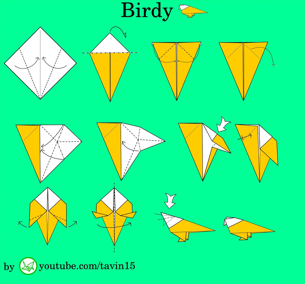The Worlds Most Recently Posted Photos By Tavin Origami Flickr Mouse Origamiorigami Diagramorigami Instructionsorigami Budgie Tags Tavinsorigami Traditional Diagram Diagrams Paper