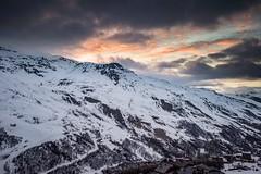 Couché de soleil aux Menuires (nicolas.carere) Tags: les3vallees cloudy mountain frenchalps d810 sunset lesmenuires nikond810