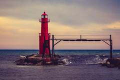 Algoma Pierhead Lighthouse (Shawn Conrad Photography) Tags: algoma wisconsin unitedstates us