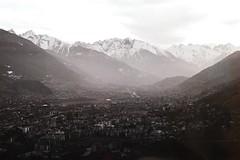 Aosta in black and white (davidecerrato) Tags: nikon fe nikonfe 50mmlens filmcamera filmphotography filmisnotdead ishootfilm keepfilmalive filmlove film 35mm 35mmphotography ilford xp2 xp2super blackandwhite bnw aosta monochrome biancoenero bnwfilm